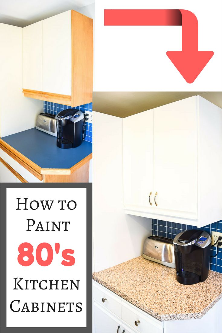 postpone that kitchen remodel ill show you how to paint 80s kitchen cabinets - Small Kitchen Ideas On A Budget