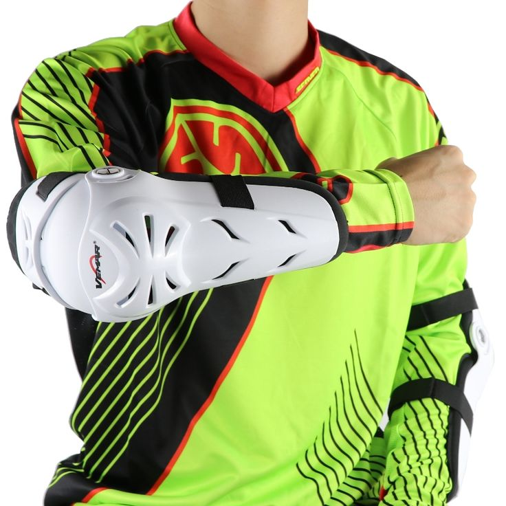 Vemar E02 Professional Motorcycle elbow protector Motocross Downhill Dirt Bike MTB MX protecciones Off Road Racing elbowpad