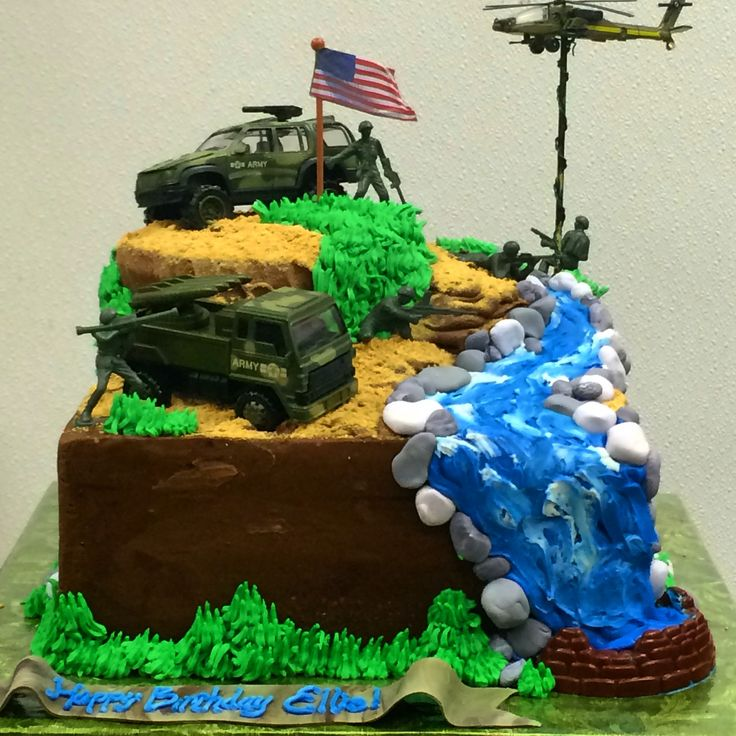 33 best army birthday cakes for boys images on Pinterest Army