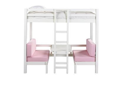 Best Badcock Tea Party Twin Loft Bed Lilli Bug Pinterest 400 x 300