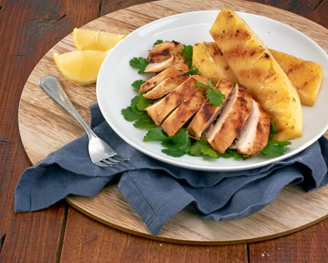 Take a trip to the tropics with a grilled chicken entrée that pairs the unique flavors of our demerara sugar, pineapple and fresh cilantro.