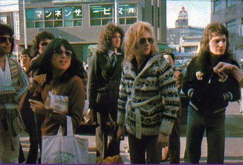 QUEEN in Japan - Mar-Apr 1976