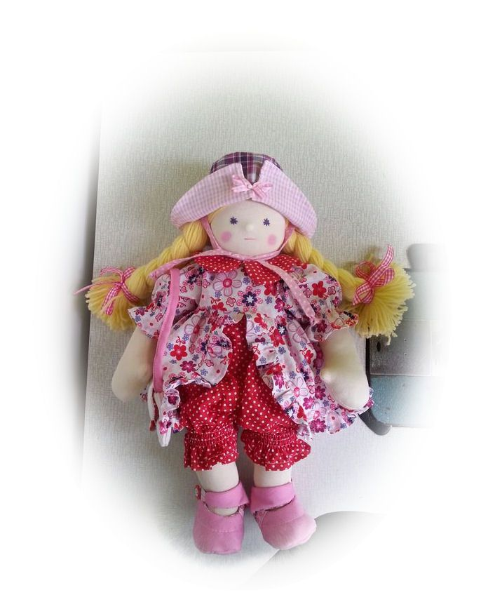 my handmade walldorf inspired doll