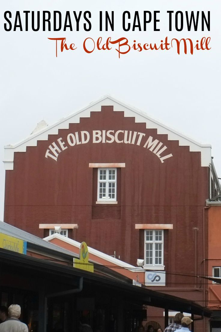 If you are traveling to Cape Town, South Africa, do not pass up the chance to visit the Old Biscuit Mill in Woodstock on a Saturday!