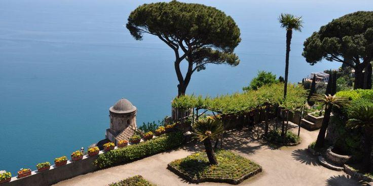 """The garden of #Villa #Rufolo, known as the """"Garden of the #Soul"""", in #Ravello."""