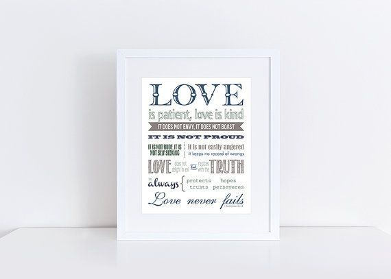 Wedding Reading Love Is Patient: 25+ Best Ideas About Love Is Patient On Pinterest