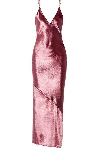 Fleur Du Mal - Velvet Chemise - Pink - US10