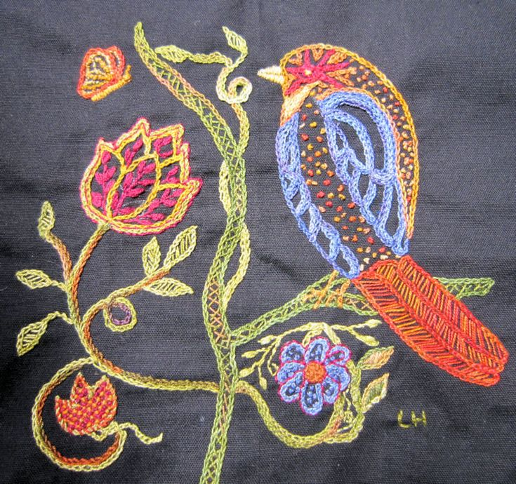 African Folklore Embroidery