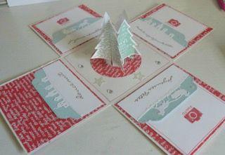 Boîte à explosion Noël: http://isaccrostamp.canalblog.com/archives/2015/12/01/33005623.html