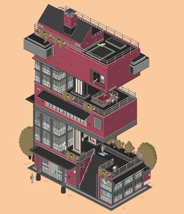 Das Kreative Haus: Animated GIFs by Florian Schommer