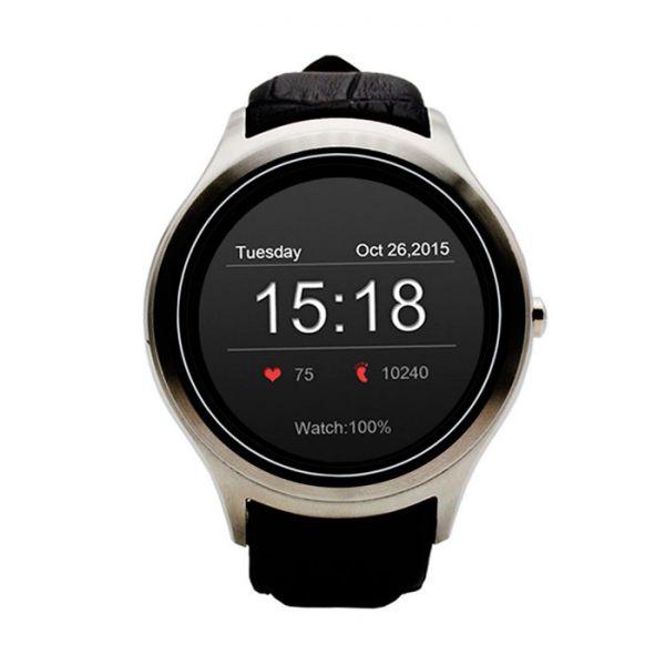 Reloj Telefono Movil con 3G WIFI y ANDROID 4.4 SmartWatch Redondo muy elegante.