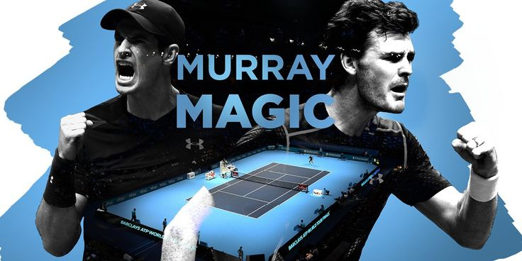 11/20/16 THE MURRAY BROTHERS CLINCH YR-END NO.1 RANKINGS! Via British Tennis:  Andy Murray & Jamie Murray are the first brothers to end the year as ATP World Tour singles & doubles team No.1 #MurrayMagic  Age ain't nothing but a number.