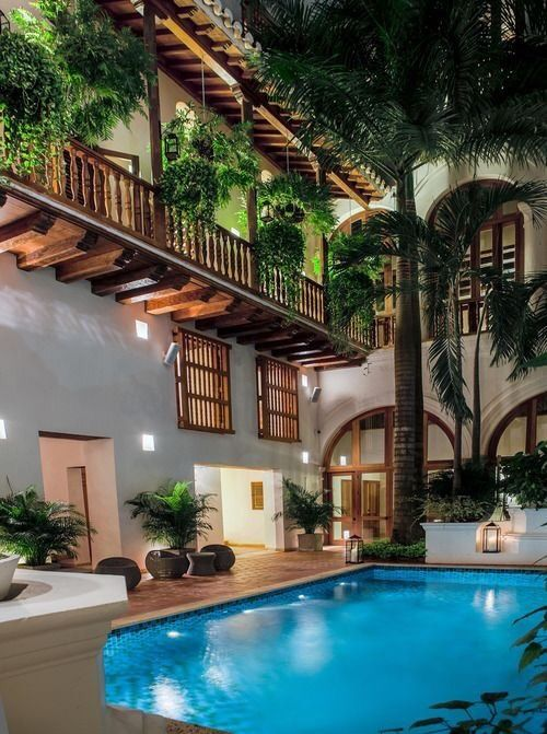 Hotel Casa San Agustín, Cartagena de Índias, Colombia.