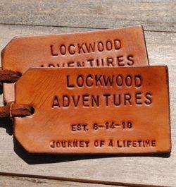 leather labels DIY
