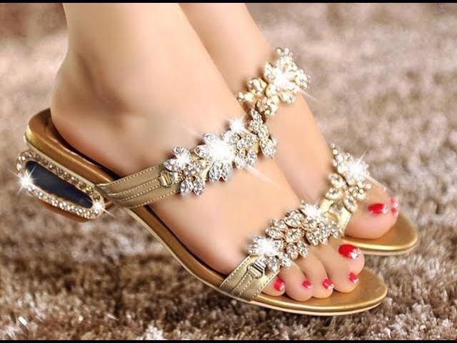 Bridal sandals, Girls high heel shoes