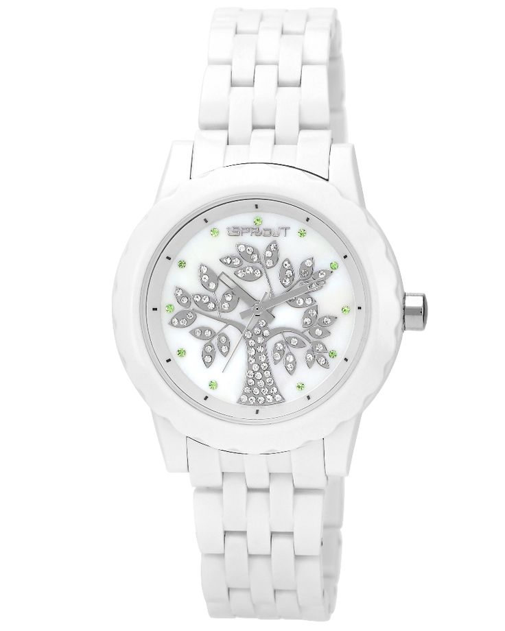 Sprout Watches - Tree of Life Crystal. Eco-friendly with 80% or more biodegradable materials. Beautifully-crafted, made to last. $115. Eco Guardian.