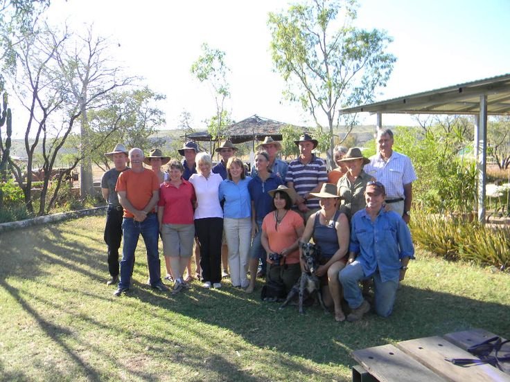 The 2010 Spewewah Valley riders and support crew