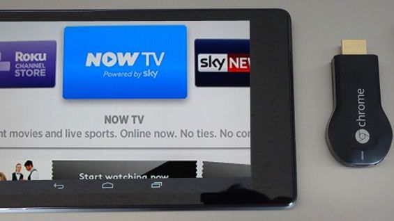 Sky will consider a Now TV app for Chromecast | Sky have talked about the prospect of a Now TV Chomecast app if Google's TV streaming device hits the UK. Buying advice from the leading technology site