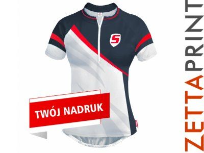 WINDY Koszulka Kobieca Rowerowa Nadruk ZTT_DS0369