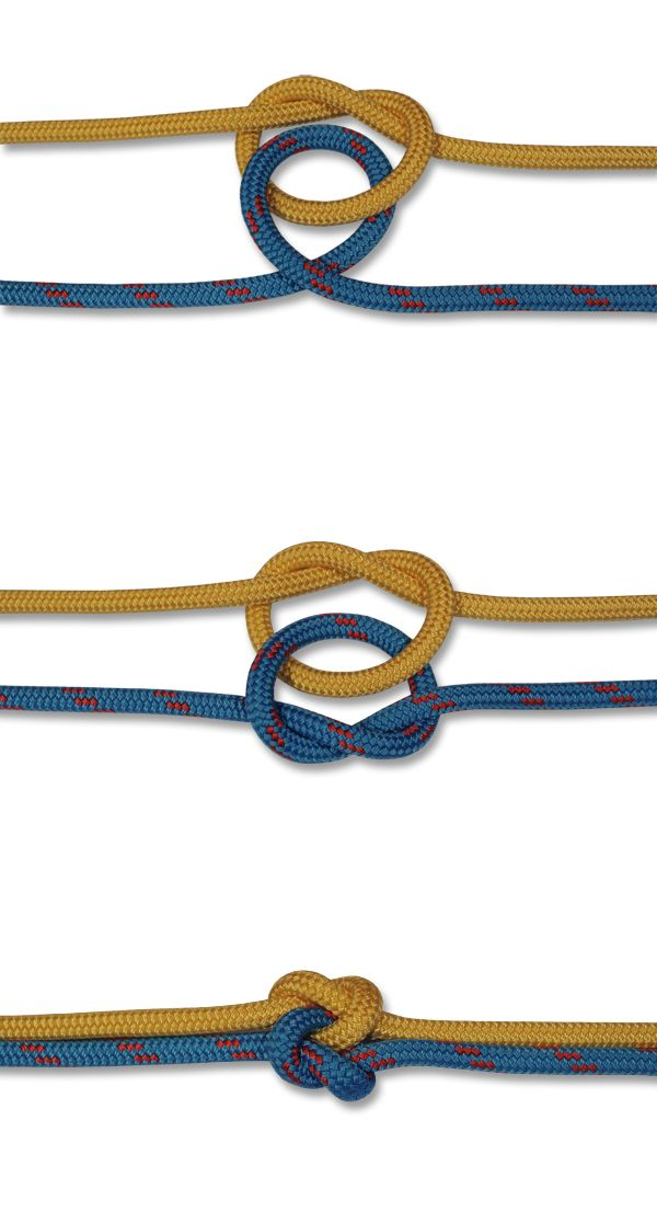 How to tie a True Lovers Knot