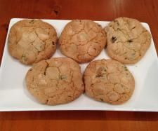 Recipe White Chocolate and Pistachio Biscuits (GF) by AngeMc - Recipe of category Baking - sweet