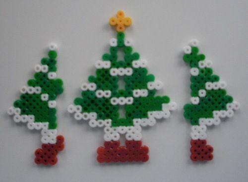 3D Christmas tree hama beads