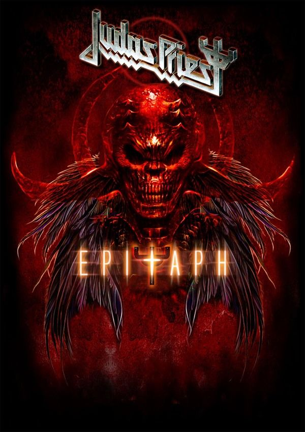 Judas Priest ~ Epitaph by Jessica Hart, via Behance