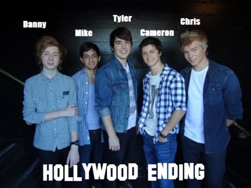 Up and coming band, Hollywood Ending. Such sweet hearts :)