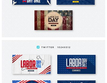 "Check out new work on my @Behance portfolio: ""Labor Day""…"