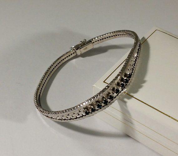 925 ECHT SILBER *** Massives Schlangen-Armband  4 mm 18,5 cm