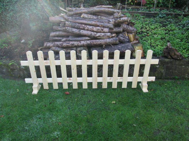 wooden Free standing Picket Fence panels- 6ftx2ft planed timber smooth finish | eBay