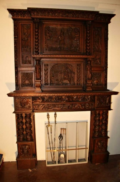 99 best images about fireplace mantels on pinterest for Tudor style fireplace