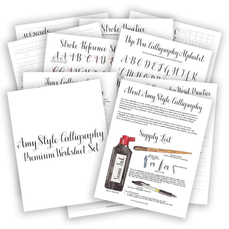 12 best Calligraphy images on Pinterest - best of writing invitation worksheet