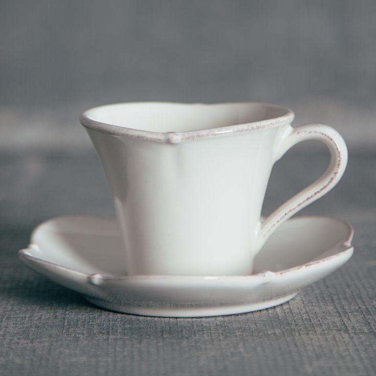 Meridian Scalloped White Dinnerware Sets - Relish Decor