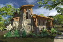 Contemporary Style House Plan - 2 Beds 2 Baths 985 Sq/Ft Plan #120-190 - Floorplans.com