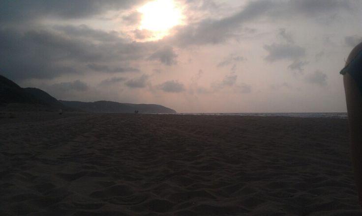 Ağva sahili boylu boyunca