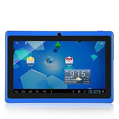 "7"" Blue Wi-Fi Enabled Tablet 4GB, Dual Camera, Android. Only at www.pandadeals.co.uk"