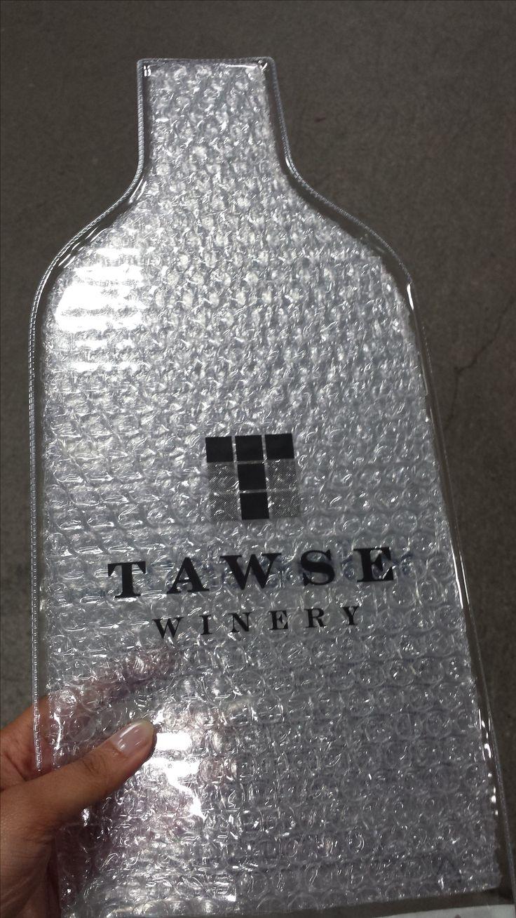Custom Wine Skin for Tawse Winery