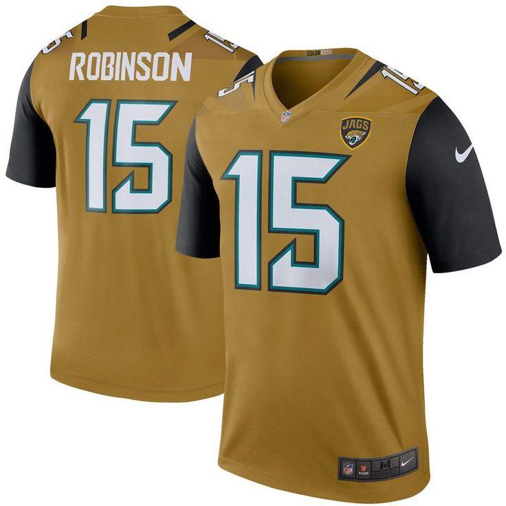 Allen Robinson Jacksonville Jaguars Nike Color Rush Legend Jersey - Bold Gold