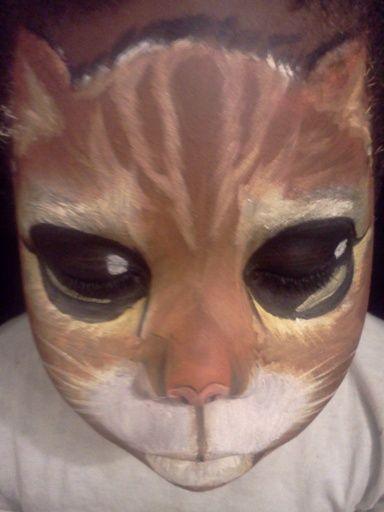 amazing cat face paint