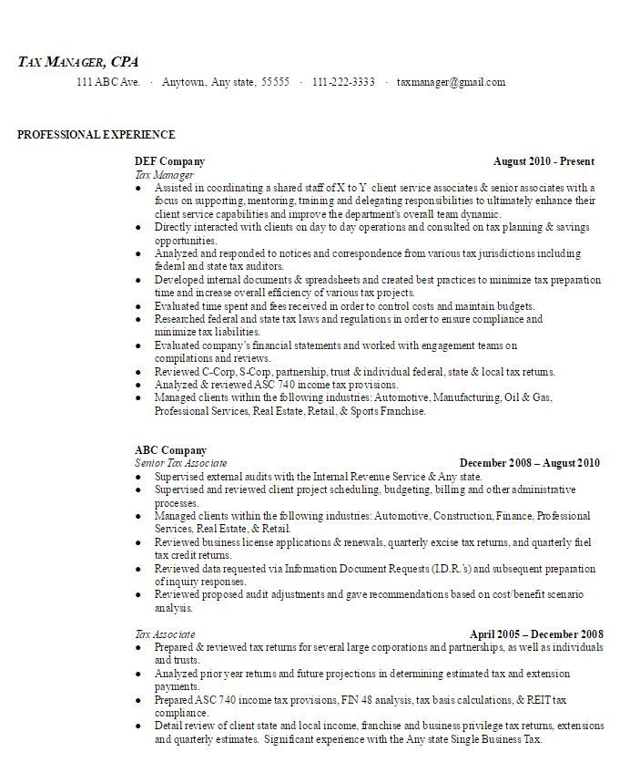 Best 25+ Build a resume ideas on Pinterest Resume writing format - tax preparer resume