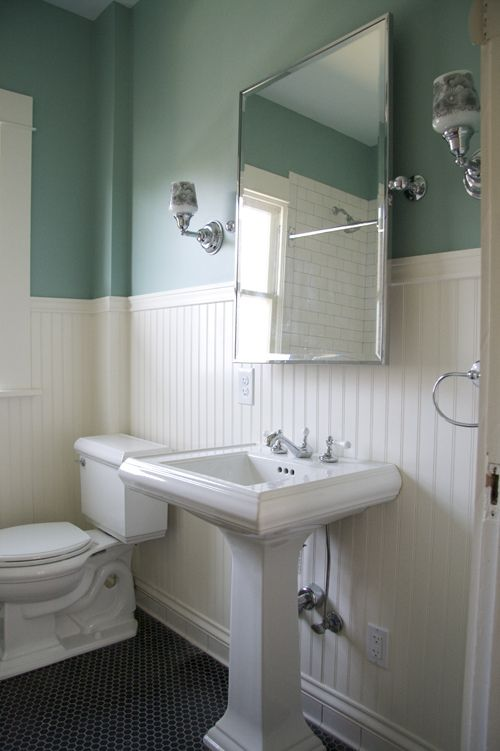 108 best bathroom redo ideas images on pinterest bath for Hall bathroom ideas