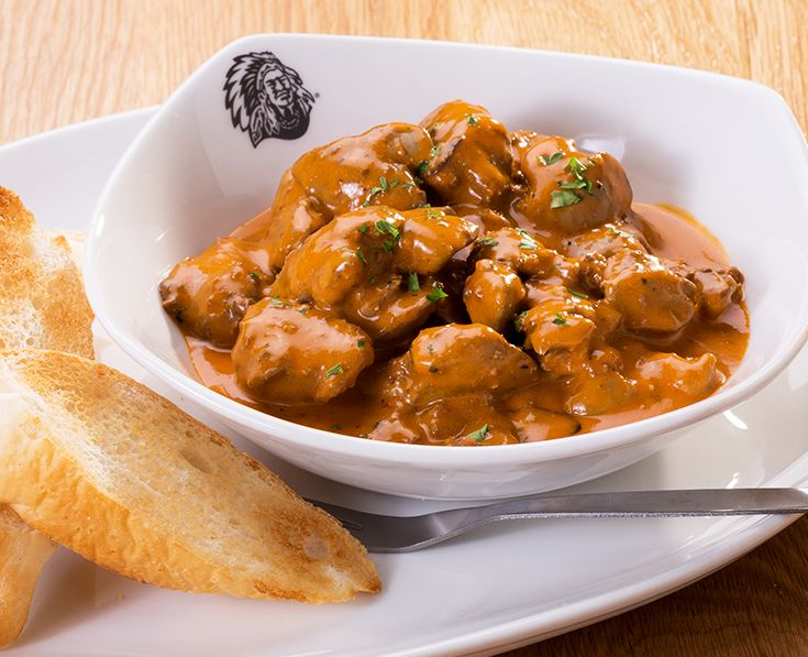 Chicken Livers: Spicy peri-peri chicken livers. Served with toasted sliced bread. https://www.spur.co.za/menu/starters/