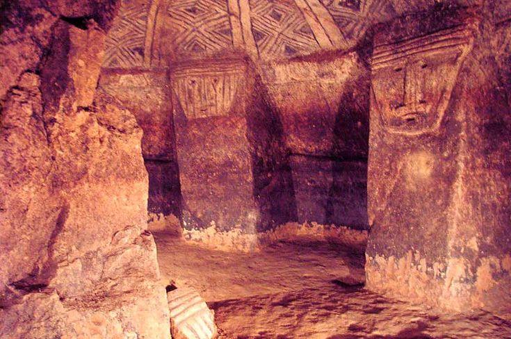 Parque Arqueológico Nacional de Tierradentro. Centro oeste de Colombia.