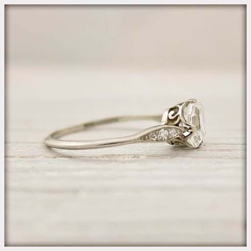 Jewelry, Tiffany Antique Engagement Rings: Vintage Tiffany Engagement Rings for Simple and Elegant Look