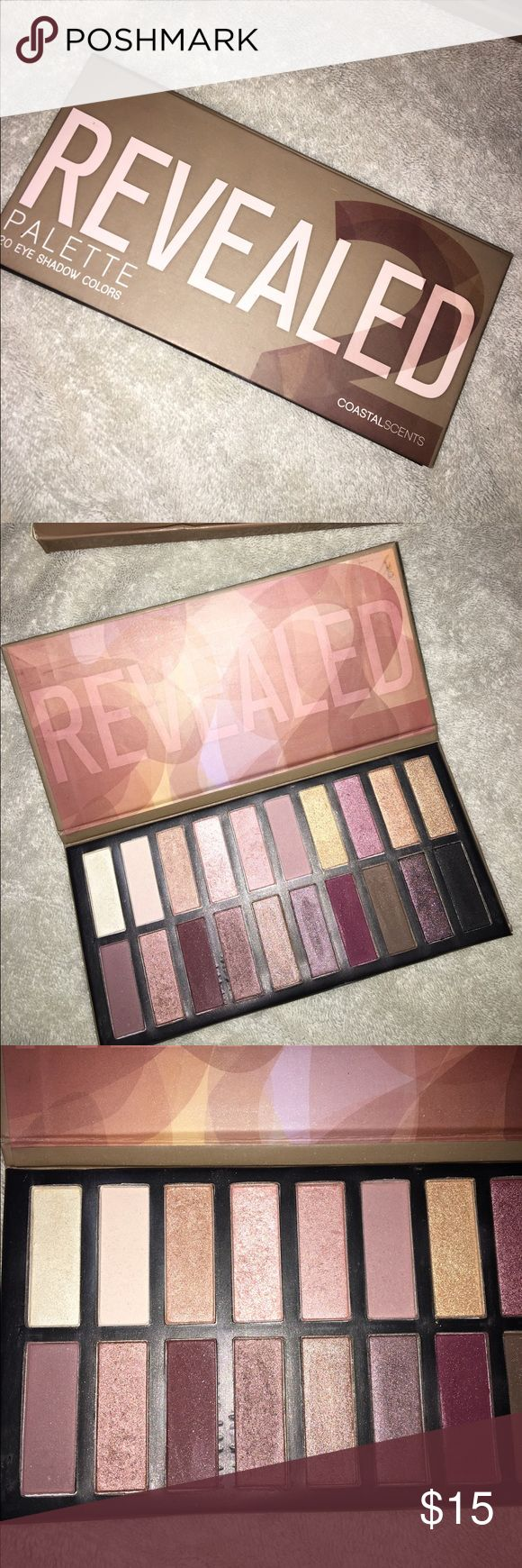 Coastal Scents Revealed 2 Palette coastal scents revealed 2 palette some colors used some only swatched!! coastal scents Makeup Eyeshadow