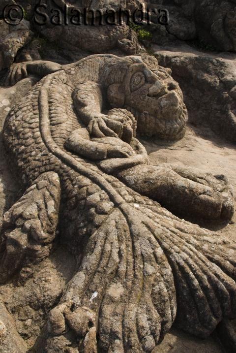 Les rochers sculptés de Rothéneuf, Saint-Malo, Bretagne
