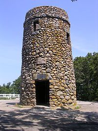Scargo Tower - Dennis, Cape Cod. Climb to the top and enjoy the view of Cape Cod Bay.