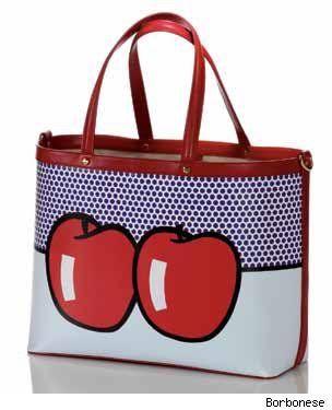 Borbonese & Roy Lichtenstein Handbag Collaboration