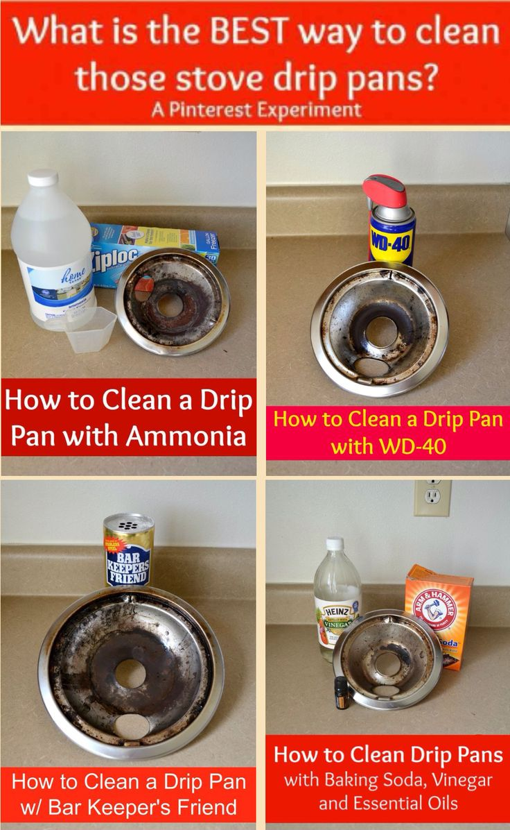 25+ best ideas about Stove drip pans on Pinterest | Clean drip ...